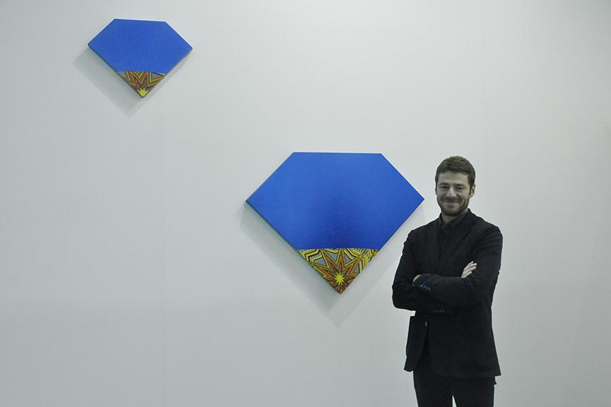 Giorgio Galotti at Artissima