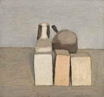 Giorgio Morandi-Natura morta-1956