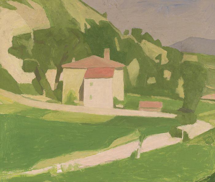 Giorgio Morandi-Paesaggio-1935