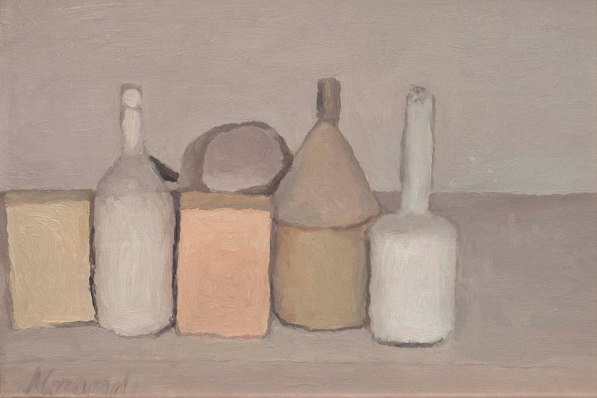 Giorgio Morandi can be seen as one of the most famous still life artists whose work announced the emergence of minimalism