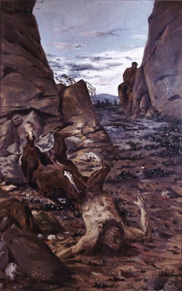 Giorgio de Chirico - Dying Centaur