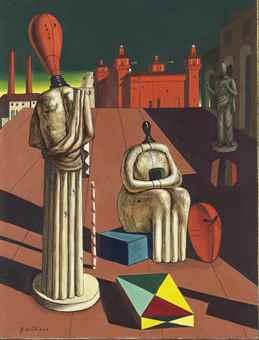 Giorgio de Chirico-Muse inquietanti-1963