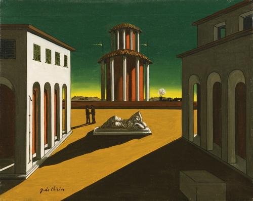 Giorgio de Chirico-Piazza D'Italia-1950