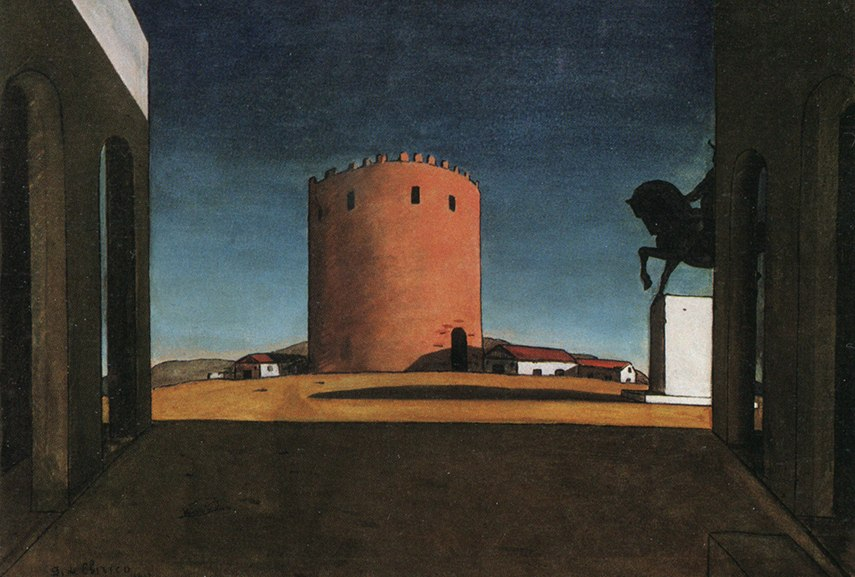 pittura metafisica and the metaphysical painting style alberto modern art, strange use of italian 1917