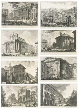 Giovanni Battista Piranesi-Views Of Rome: 10 Plates-1760