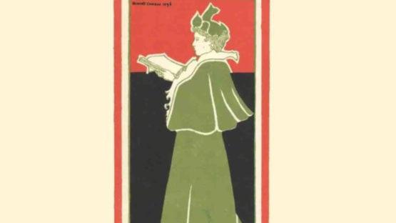Gisbert Combaz - La Libre Esthetique, 1897 (detail)