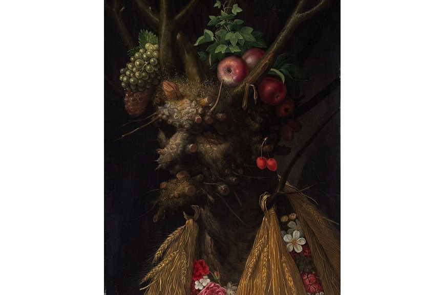 Four Seasons in One Head Giuseppe Arcimboldo c. 1590