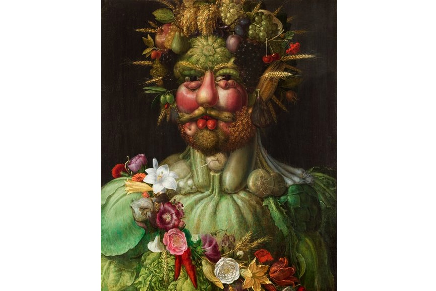 Vertumnus, 1591, the Italian painter Giuseppe Arcimboldo