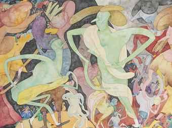 Gladys Nilsson-Little Black Shoes-1978