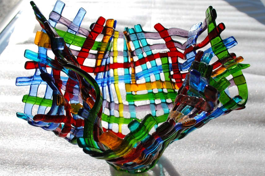 Shop Glass lighting at special prices. Glass bowl - Image via Lourdesrosasrasdall com