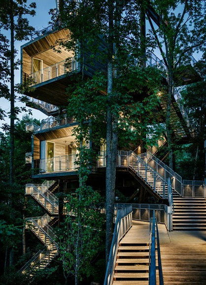 Mithun with BNIM- Sustainability Treehouse, West Virginia
