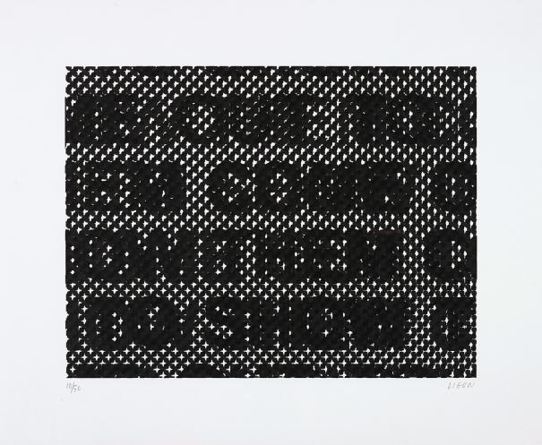 Glenn Ligon-Detail-2014