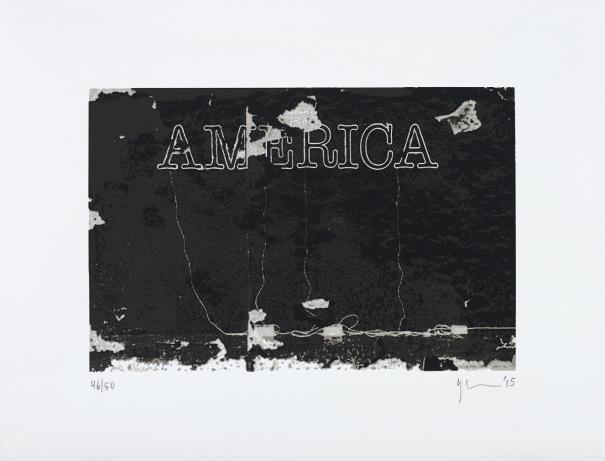 Glenn Ligon-Untitled (America)-2015