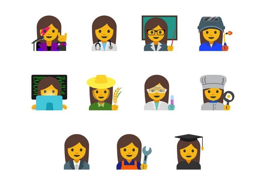 Google's Female Emoji