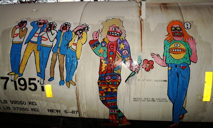 Goons - street art