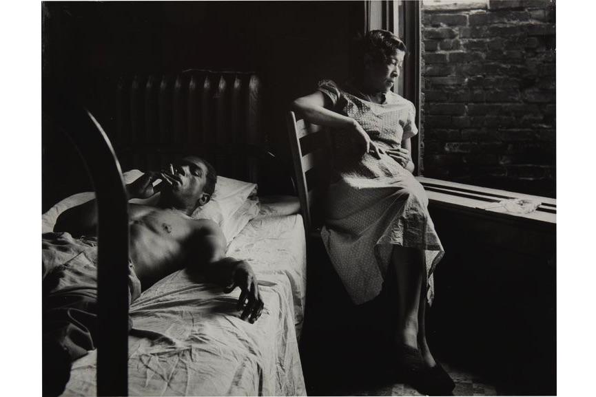 Tenement Dwellers, Chicago, 1950