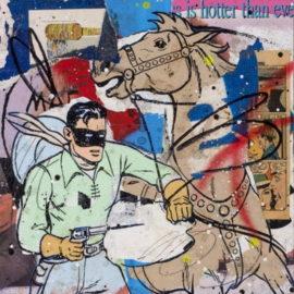 Greg Gossel-Gun Fight In Green-2009