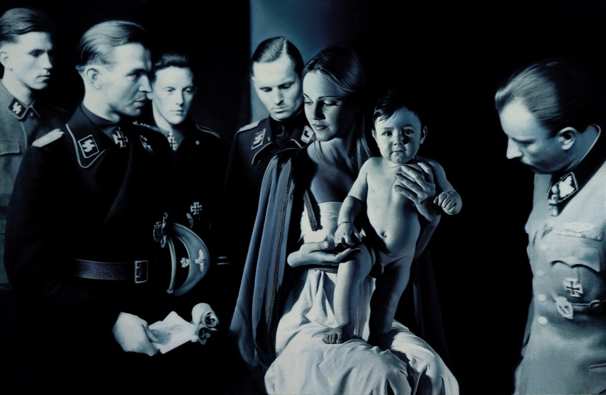 Gottfried Helnwein - Epiphany I - Image via zesttoday