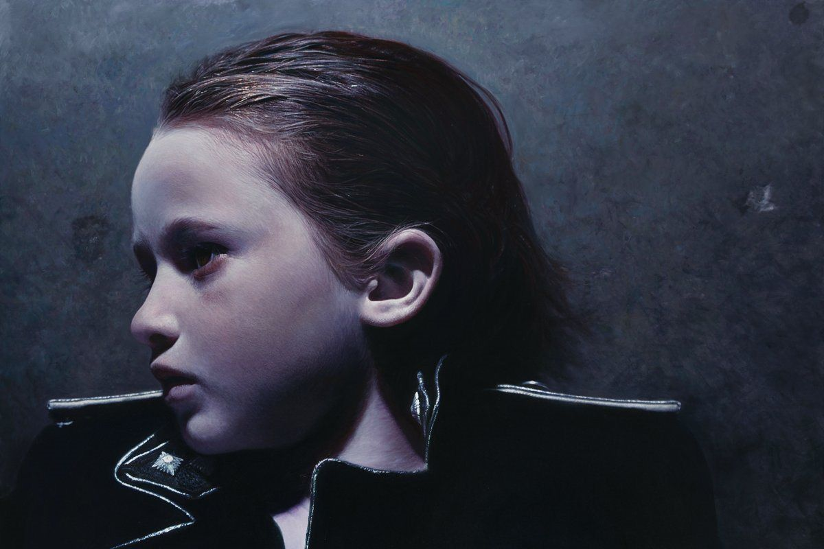 Gottfried Helnwein - The murmur of the Innocents 18, detail privacy