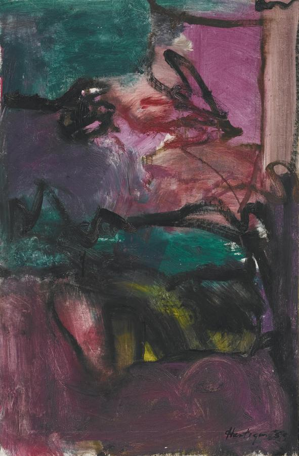 Grace Hartigan-Untitled-1959