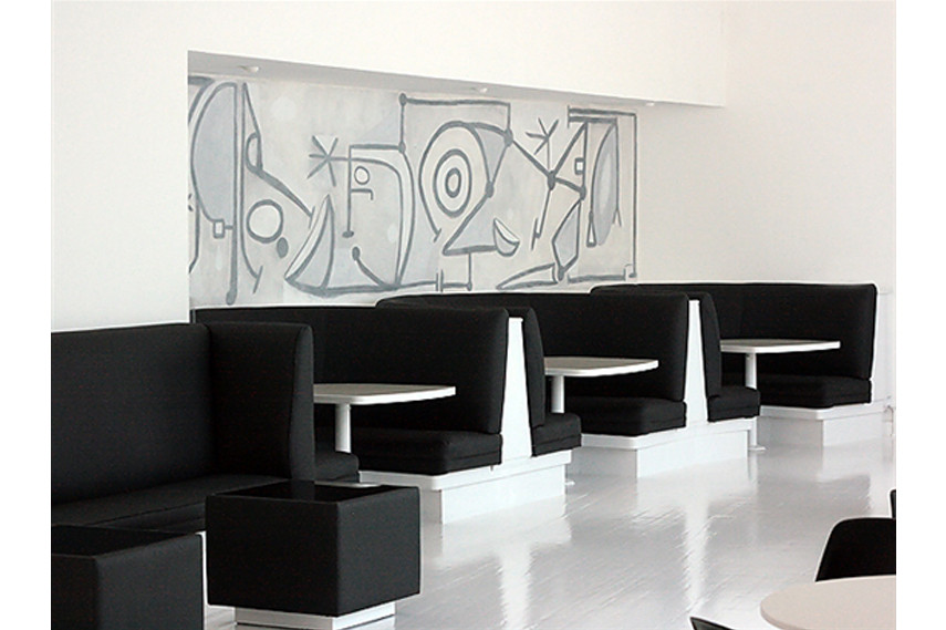 Graffiti Cafe Interior - via eurostylelighting com