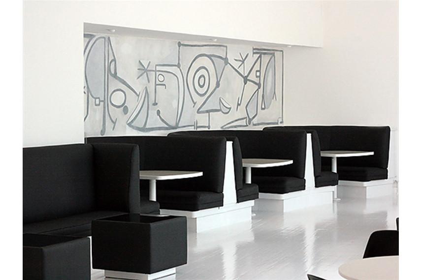 Graffiti Cafe Interior - via eurostylelighting com