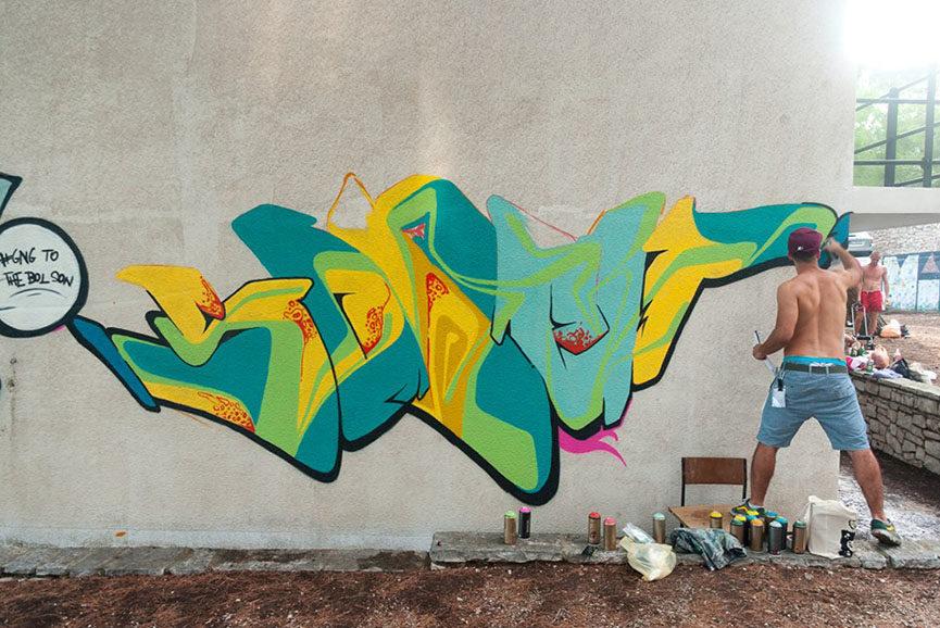 graffiti na gradele, street art festival,