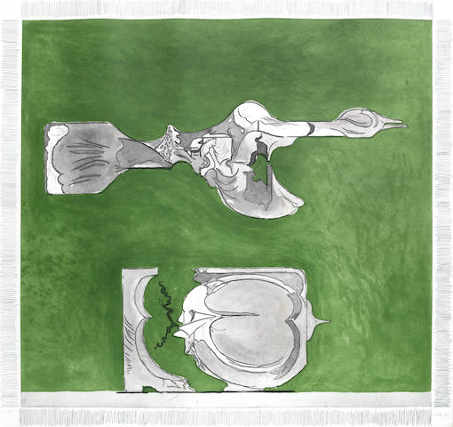 Graham Sutherland-Bird and Split Rock-1974