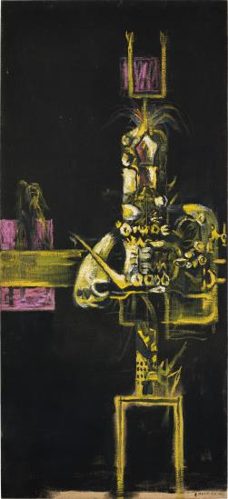 Graham Sutherland-Hydrant with Black Ground-1954