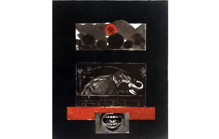 Graham Sutherland - The Elephant, 1978-79