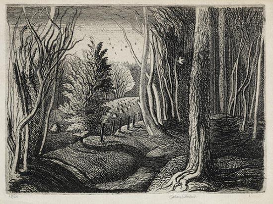 Graham Sutherland-Wood Interior-1929