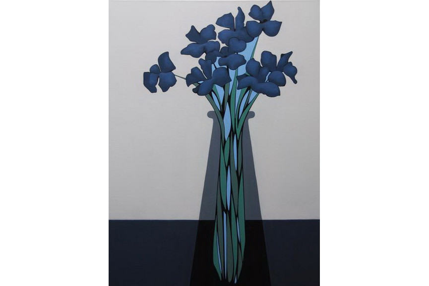 Grant William Thye – Blue Flowers