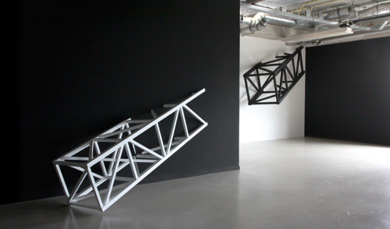 Graphic Surgery - Intrusive structures installation, 2015