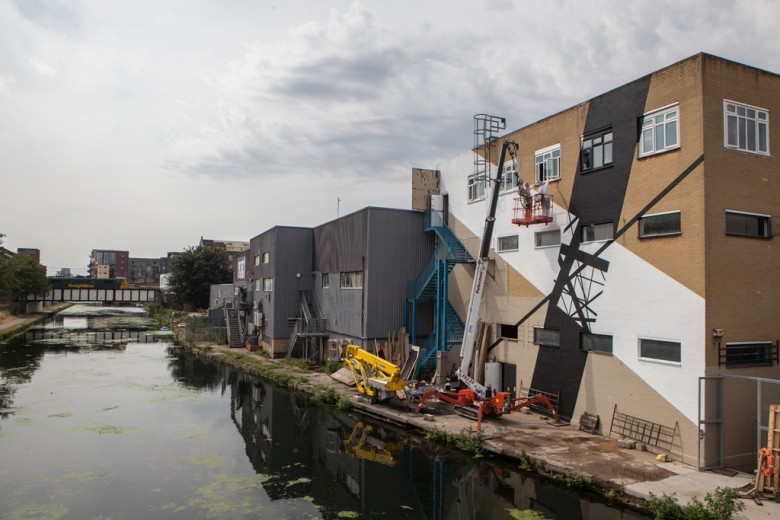 Graphic Surgery - The Canals Project - Hackney Wick, London, 2013 - different view
