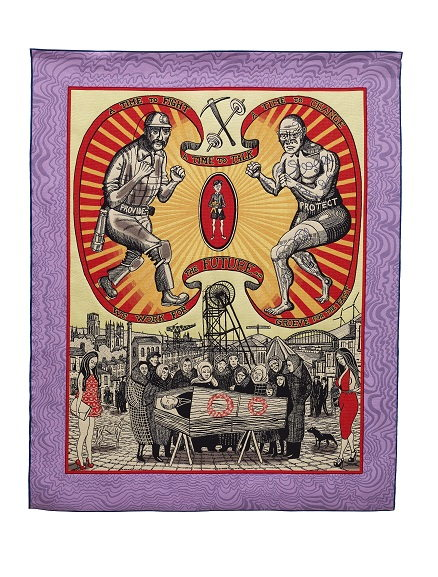 Grayson Perry - Death of a Working Hero, 2016