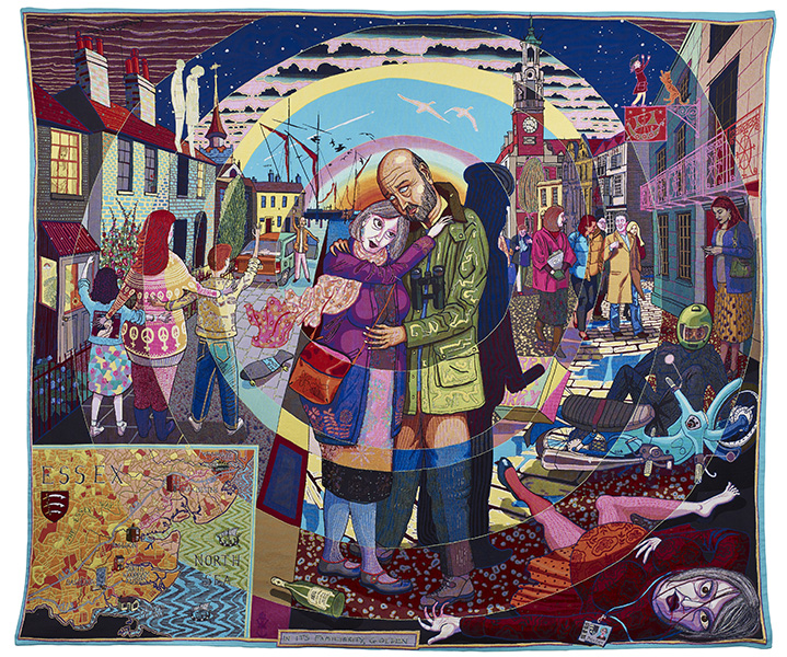 Grayson Perry - In its Familiarity Golden, 2015