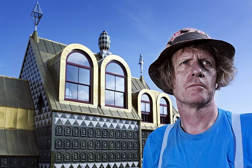 Grayson Perry RIBA fellowship