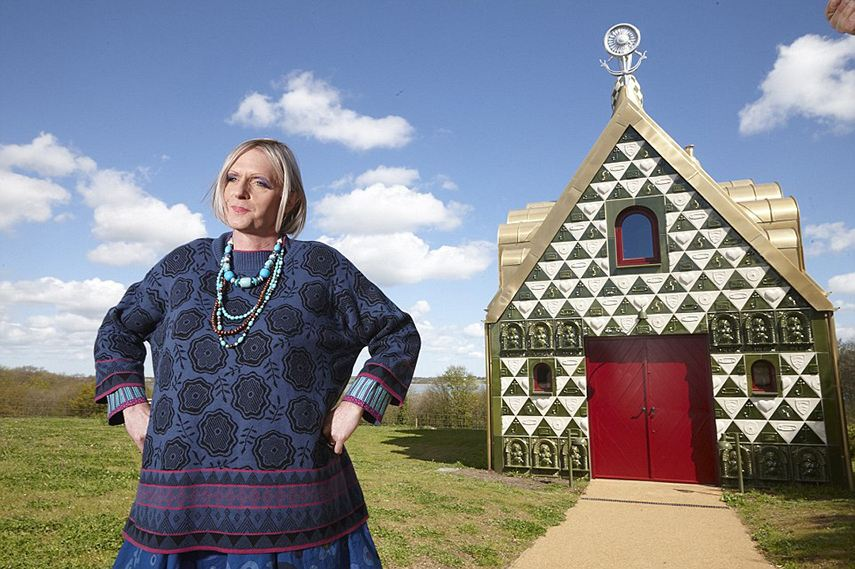 Grayson Perry RIBA fellowship architecture 2015 contact charles university london design