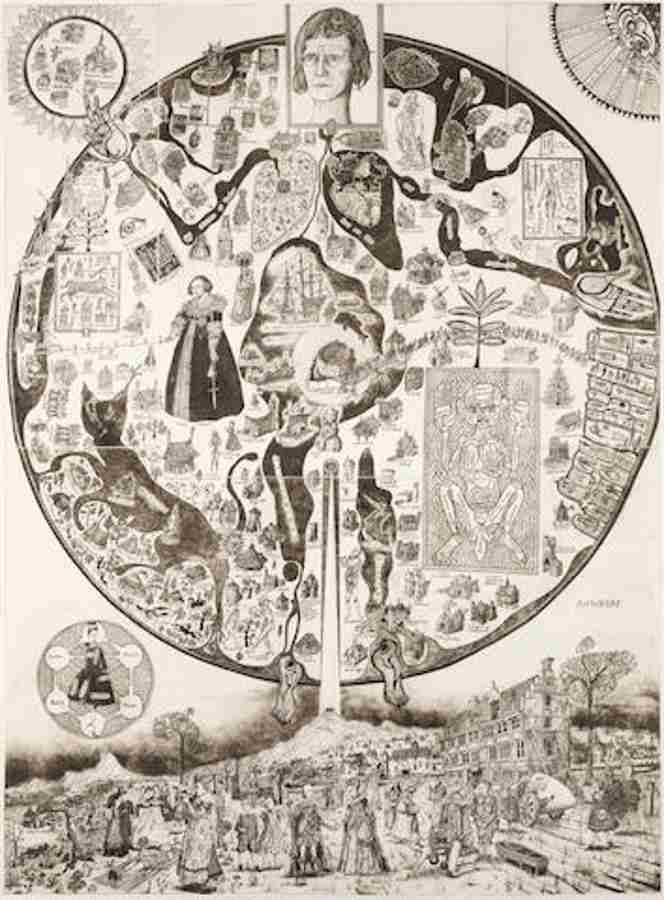 Grayson Perry-Map of Nowhere-2008