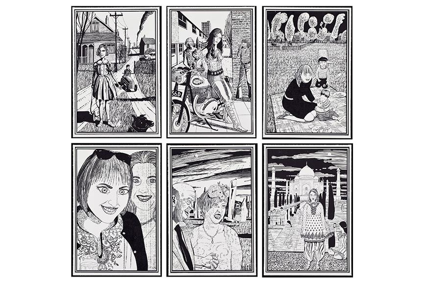 Grayson Perry - Six Snapshots of Julie, 2015