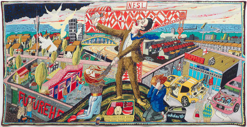 Grayson Perry is an artist who lives in London close to little gallery. You can see published perry's news in press on video and in media