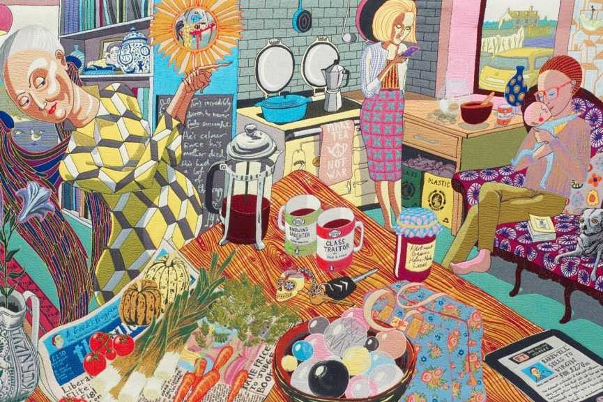 Grayson Perry exhibition gallery national home