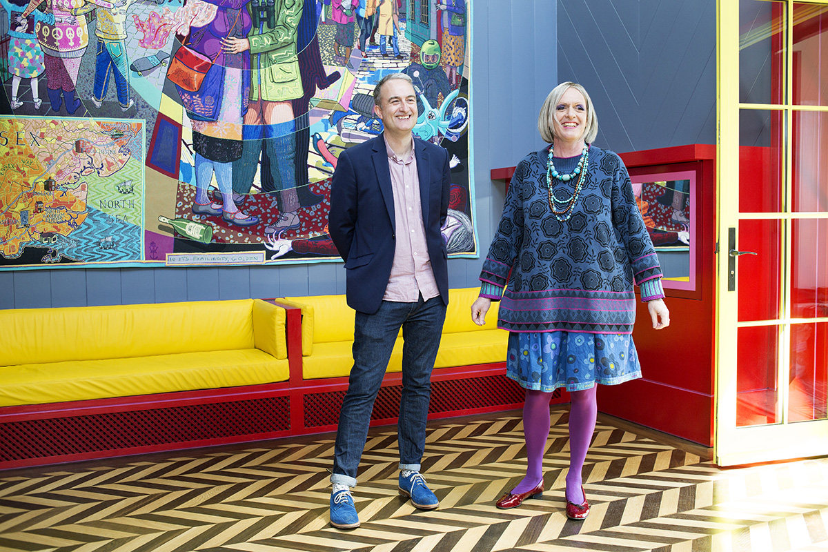 Grayson Perry and Charlie Holland, Courtesy Living Architecture Images © Jack Hobhouse