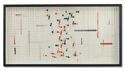 Grazia Varisco-Reticolo Frangibile R+N Ortogonale+Inclinato-1970