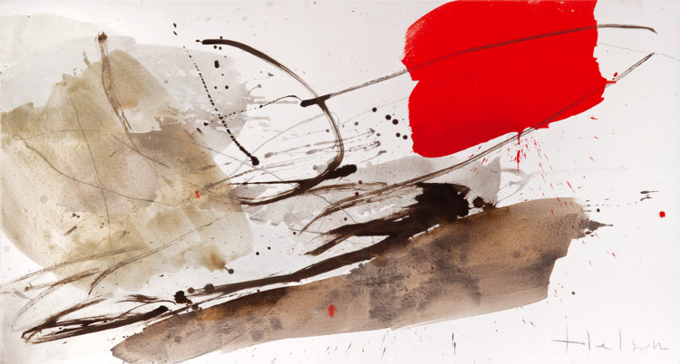 Greet Helsen - Aufbruch, 2012, Acrylic on canvas, photo credits - artist