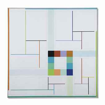 Gregorio Vardanega-Orthogonalisme chromatique-1991