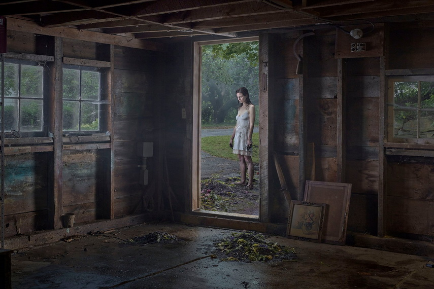 Gregory Crewdson - The Shed, 2016 - image via theguardian