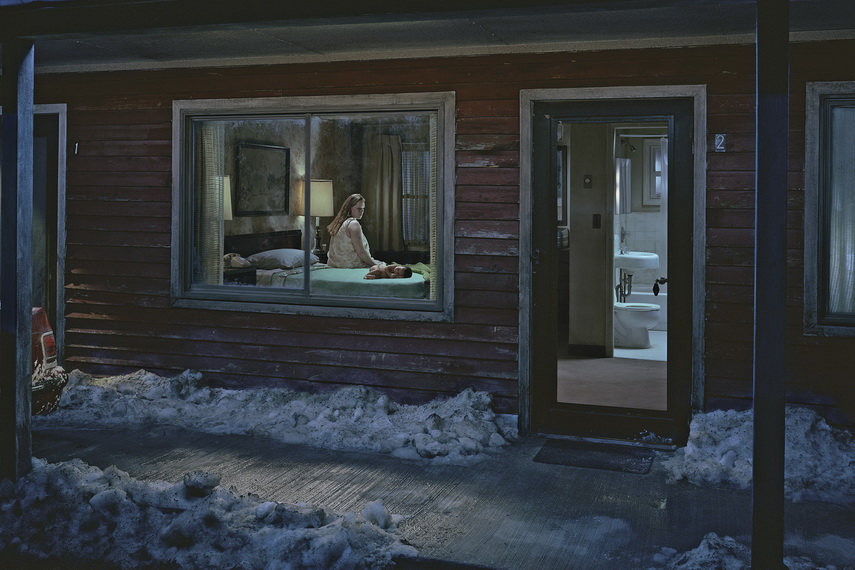 Gregory Crewdson - Untitled (Birth) from the series Beneath the Roses, 2007 - image via americansuburbx