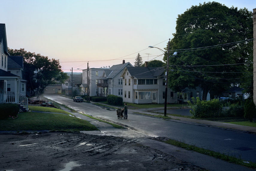 Crewdson was in contact with the film director who made a documentary about his work