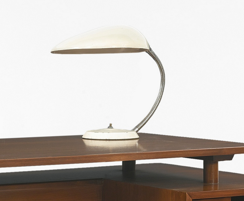 Greta Magnusson Grossman - Cobra Table Lamp-1949